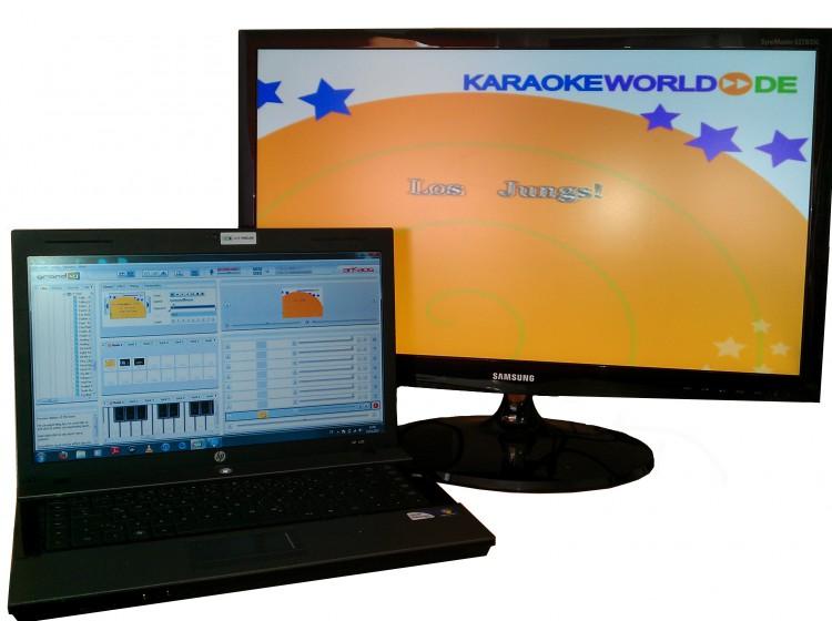 Karaoke Laptop