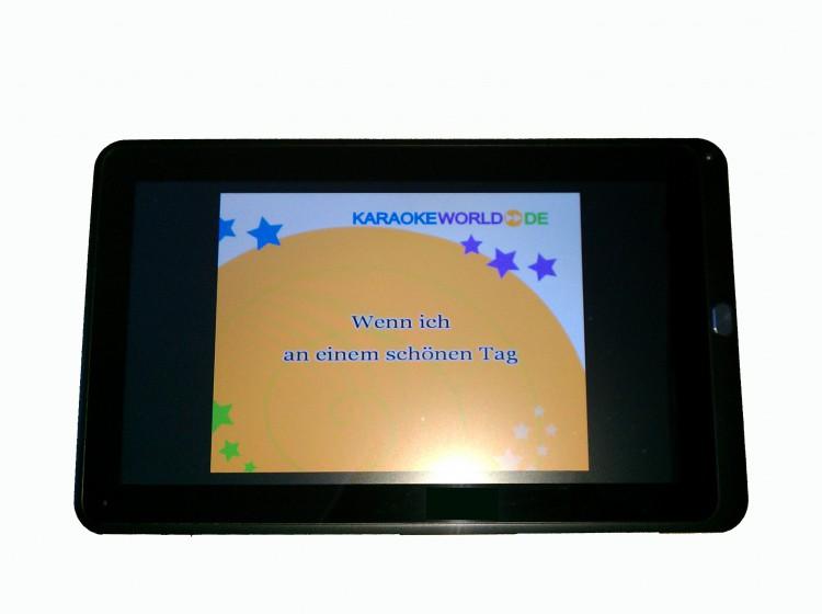 "Karaoke Tablet 10,1"" Tquchscreen"